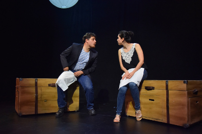 Muy sucia y muy chingona historia de amor, dirigida por Aida del Rio, se presenta en La Teatreria, noviembre 2017