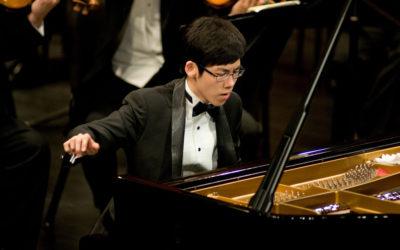 Haocheng Zhang interpreta Concierto para piano No. 2. Primera Temporada 2018 de la OFUNAM. Sala Nezahualcoyotl.