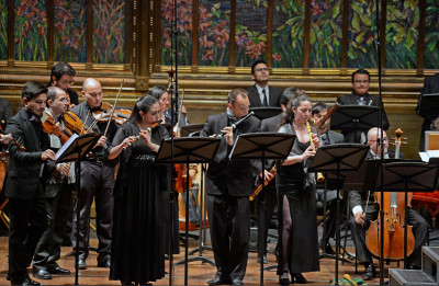 Horacio Franco, 40 anos de carrera. Conciertos de Antonio Vivaldi. Palacio de Bellas Artes, abril 2018
