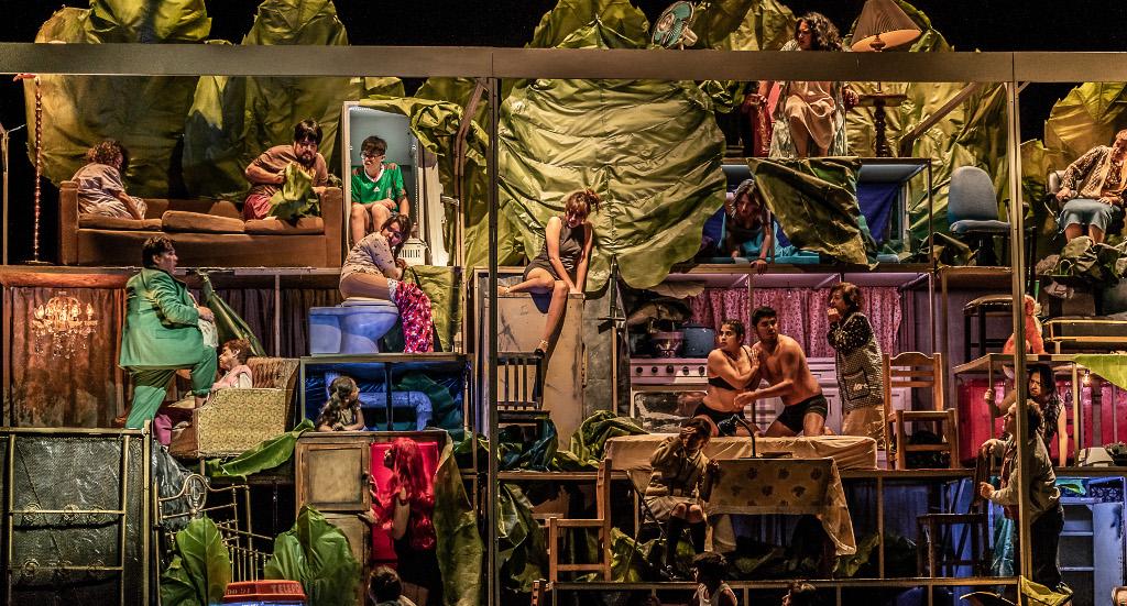 Opera de Bellas Artes presenta El juego de los insectos de Federico Ibarra, con la direccion concertadora de Guido Maria Guida y escenica de Claudio Valdes Kuri. Palacio de Bellas Artes, junio 2018