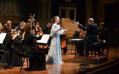 Julia Lezhneva y Les violons du roy se presentaron en el Palacio Bellas Artes, junio 2018