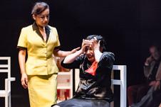 Emoe de la Parra  lleva a escena La senora  Klein. Foro La Gruta  del Centro Cultural Helenico, junio 2016