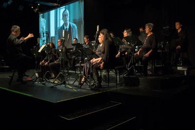 24 Voces x Segundo, un concierto con el Coro de Mexico dirigido Gerardo Rabago en el  Lunario del Auditorio Nacional, junio 2017