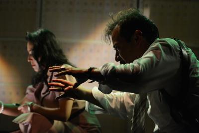 Teatro de Quimeras presenta El sapo y las minas de mercurio, obra de Martin Lopez Brie, en la Sala Xavier Villaurrutia, agosto 2017