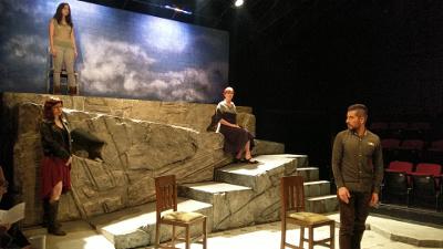 La semilla, obra de Edgar Chias con direccion de Gabriela Ochoa, se presenta en el Teatro El Granero, octubre 2017