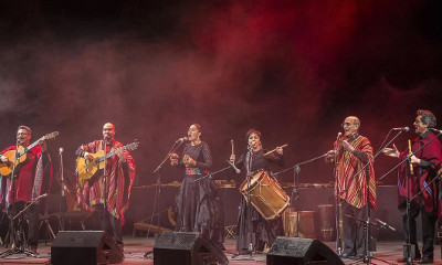 Los Folkloristas celebran 51 anos en el Teatro de la Ciudad, diciembre 2017. Foto Jose Jorge Carreon