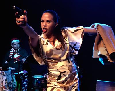 Psicosis decembrina, creada por Eloy Hernandez y Haruki Teatro, se presenta en el Foro Shakespeare, diciembre 2017