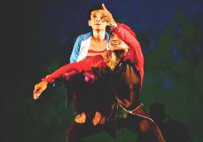 Athros Danza Contemporanea presenta Diario de un viajero, obra de Robert Spin, en el Teatro de la Danza, febrero 2018
