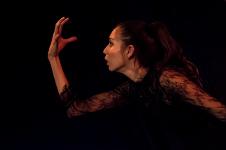 Nandy Luna Ramirez presenta la obra Beatrice, en el Festival Soliloquios y Dialogos Bailados. Centro Cultural Los Talleres, febrero 2018