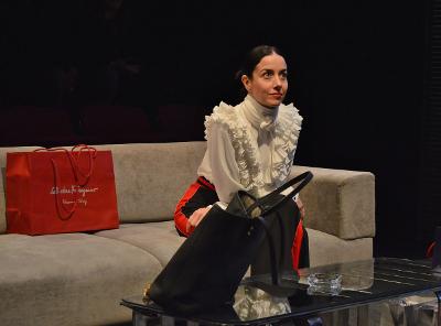 Cecilia Suarez actua en Testosterona, obra de  Sabina Bergman, dirigida por Ana Francis Mor. Teatro El Granero, febrero 2018