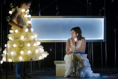 Compagnia Finzi Pasca  presenta Bianco su Bianco en el Teatro Helenico, marzo 2018