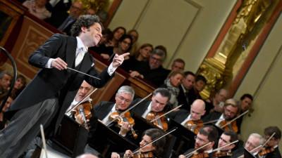 Gustavo Dudamel dirige a la Filarmonica de Viena en sus presentaciones en el Palacio de Bellas Artes y en el Auditorio Nacional, marzo 2018