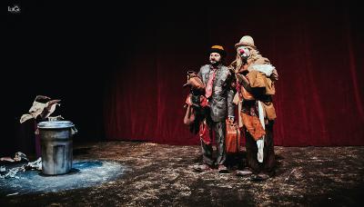Vagabondo Circo, espectaculo de Los Estrouberry Clowns se presenta en el Teatro Julio Castillo, marzo 2018