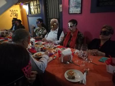Cenando Amor, direccion de Rodrigo Verastegui, se presenta en el Centro Cultural Cerebro, abril 2018