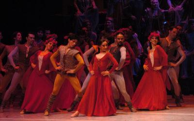 Compania Nacional de Danza presenta Carmina Burana, Homenaje a Nellie Happee. Palacio de Bellas Artes, mayo 2018