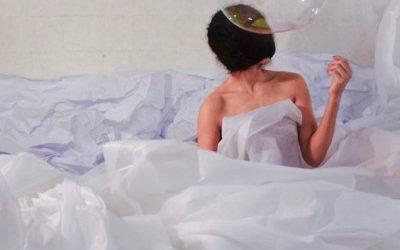 Cressida Danza Contemporanea, dirigida por Lourdes Luna, presento Gota, acciones minimas convertidas en mar, en el Palacio de Bellas Artes, julio 2018