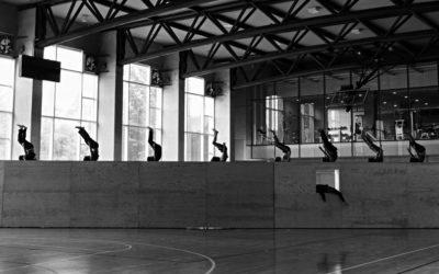 Francisco Cordova presenta Ten cuidado con lo que deseas, obra que celebra 10 anos de la compania Phisycal Momentum scenic action. Palacio de Bellas Artes, julio 2018