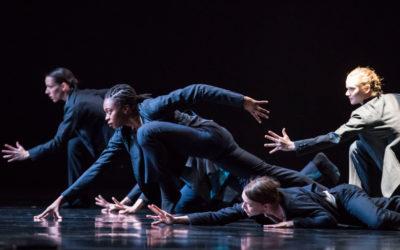 Hubbard Street Dancers se presento en Danzatlan. Teatro de la Ciudad, julio 2018 foto Todd Rosenberg