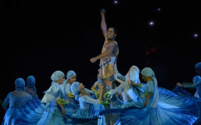 Compania Lizt Alfonso Dance Cuba presenta ¡Cuba vibra! en el Auditorio Nacional, agosto 2018