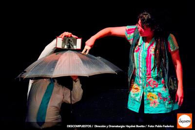Conjurados Teatro presenta Descompuestos, obra de Haydee Boetto, Teatro el Milagro, agosto 2018. Foto Pablo Federico