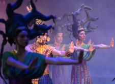 Ballet Folklorico de Mexico de Amalia Hernandez se presenta en el Palacio de Bellas Artes, septiembre 2018