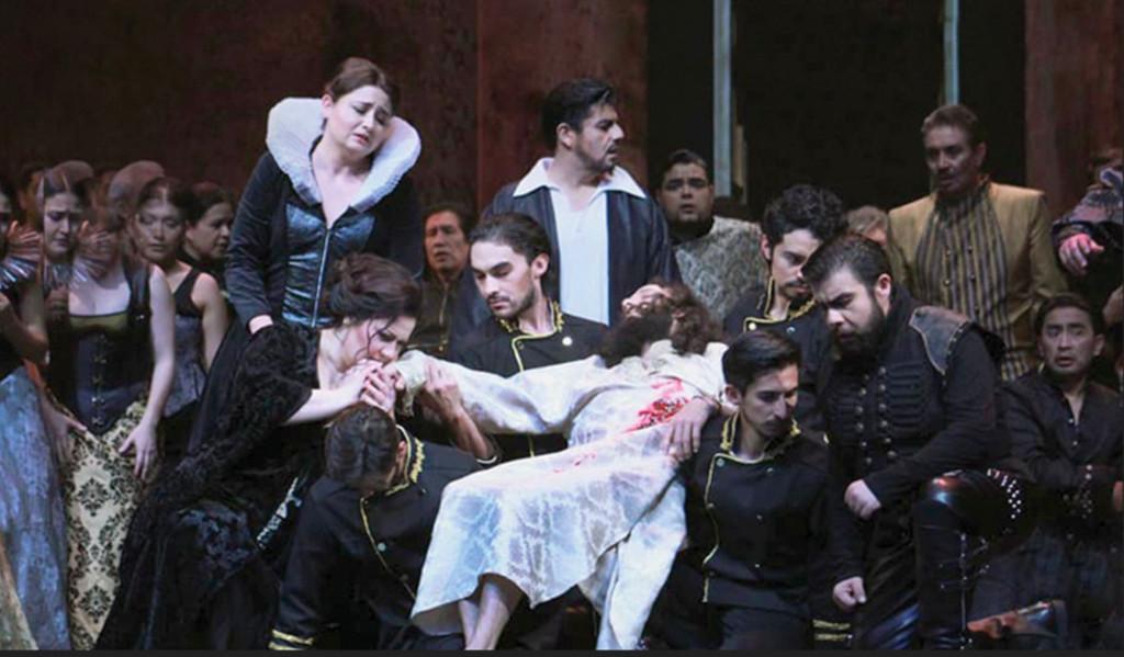 Compania Nacional de Opera presenta Macbeth, con la direccion concertadora de Marco Guidarini y escenica de Lorena Maza, Palacio de Bellas Artes, septiembre 2018