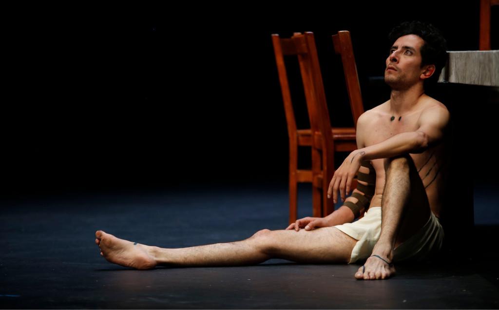 Edipo nadie es ateo, bajo la direccion de David Gaitan, se presenta en el Teatro Juan Ruiz de Alarcon, septiembre 2018 Foto Daniel Gonzalez