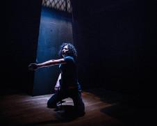 Yukio Suzuki presenta Number Nine en el Teatro de la Danza Guillermina Bravo, septiebre 2018. Foto Bozzo.