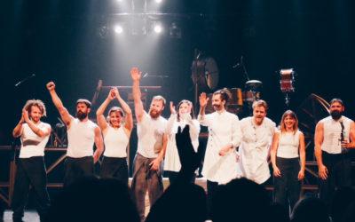Cirque Alfonse presenta Tabarnak en el Teatro de la Ciudad Esperanza Iris, octubre 2018