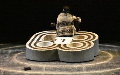 Olimpia 68, de Flavio Gonzalez Mello, se presenta en el Teatro Julio Castillo. octubre 2018