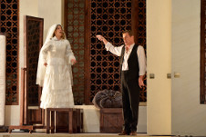 Compania Nacional de Opera presenta Las bodas de Figaro, direccion de escena de Mauricio Garcia Lozano y concertadora de Srba Dinic. Palacio de Bellas Artes, noviembre 2018