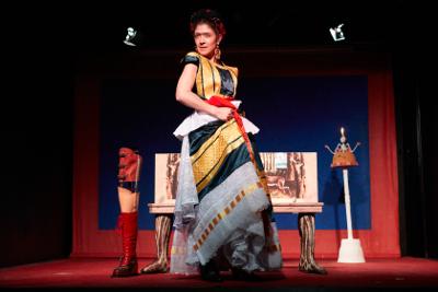 Ana Karina Guevara es Kahlo, Viva la Vida, dirigida por Pilar Boliver. Foro Bellescena, noviembre 2018
