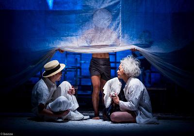 Kumotaro Mukai y Espartaco Martinez presentan Dos Soles. Teatro de la Ciudad Esperanza Iris, noviembre 2018