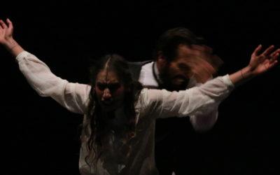 Los Fragmentos de Mary, obra de Mary Shelly en la vision escenica de Roberto Eslava, se presenta en La Capilla, noviembre 2018. Foto Daniel Paniagua