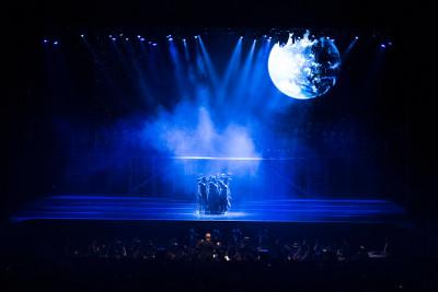 Requiem de Mozart, Espectaculo Monumental, con la Orquesta Sinfonica Nacional se presento en el Auditorio Nacional, noviembre 2018