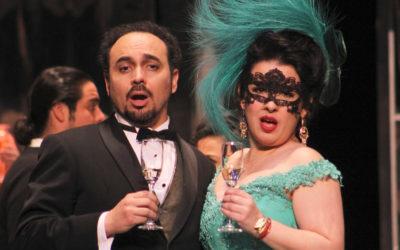 Compania Nacional de Opera presenta El murcielago, de Johann Strauss hijo. Palacio de Bellas Artes, diciembre 2018. Foto Ricardo Martini