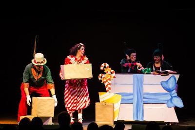 Feliz Navitrouppe se presenta en el Lunario del Auditorio Nacional, diciembre 2018