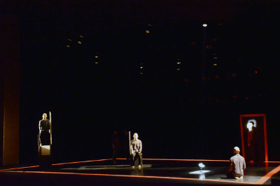 Physical Momentum presento Tercera Persona, obra de Francisco Cordova. Teatro de la Ciudad, diciembre 2018. Foto Carlos Porras