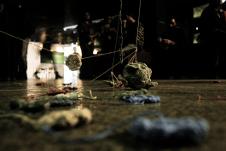 Ausentes del Colectivo Campo de Ruinas se presenta en el sotano del Teatro Julio Castillo, enero 2018
