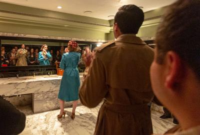 Por Piedad Teatro presenta Los banos, dirigida por Enrique Singer, en el Palacio de Bellas Artes, enero 2018