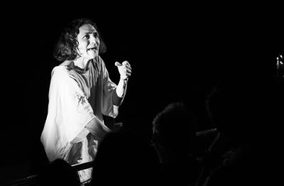 Teatro de Cierto Habitantes presenta Artaud en mil pedazos, obra de Claudio Valdes Kuri, en el Teatro de la Ciudad Esperanza Iris, febrero 2019