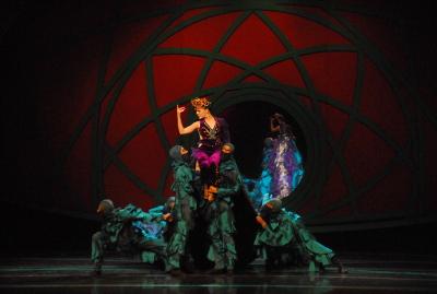 Compania Nacional de Danza presenta Blancanieves coreografia de Irina Marcano. Teatro de la Artes CENART, febrero 2019. Foto Fausto Jijon Quelal