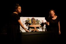 Vereda Teatro presenta Danny y las Tiasaurias, Gran Maraton de Teatro para Ninas, Ninos y Jovenes, marzo 2019