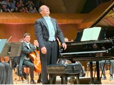 Derek Han se presento con la Orquesta Filarmónica de la UNAM. Sala Nezahualcoyotl, marzo 2019