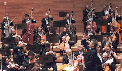 Orquesta Sinfonica de Xalapa dirigida por Lanfranco Marcelletti se presenta en el Festival del Centro Historico, marzo 2019