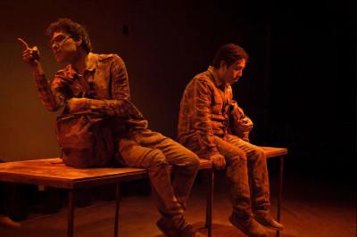 Papa esta en la Atlantida, obra de Los Pinches Chamacos, se presenta en el Teatro  Sergio Magana, marzo 2019
