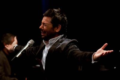 Miguel Poveda se presenta en el Festival del Centro Historico. Teatro de la Ciudad Esperanza iris, abril 2019. Foto Javier Braojos