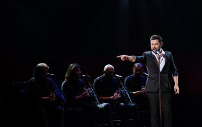 Miguel Poveda se presenta en el Festival del Centro Historico. Teatro de la Ciudad Esperanza iris, abril 2019.