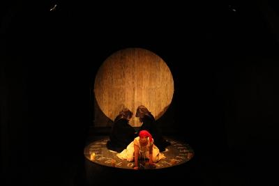 Caracola Producciones presenta No todas viven en Salem, obra de Jimena Eme Vazquez  con direccion de Gina Botello. Teatro La Capilla, abril 2019