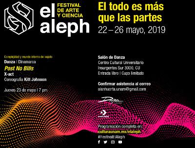 Aleph. Festival de Arte y Ciencia 2019. Centro Cultural Universitario